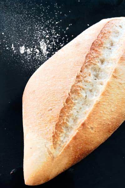 pan de sal bolillo de leña