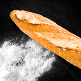 pan de sal barra de leña