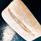 pan de sal ciabatta de leña